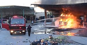 Urfa'ya gelecekti alev alev yandı