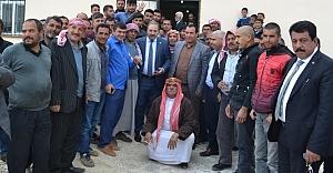 Vekil Özcan, 18 köyden daha destek aldı