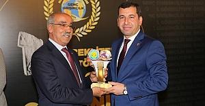 Baydilli yılın belediye başkanı seçildi