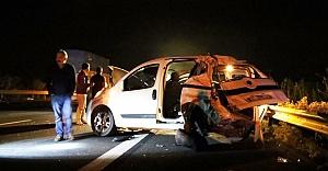 Urfa'da korkunç kaza!