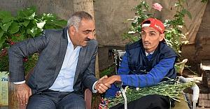 Başkan Bayık'tan Engellilere Ziyaret