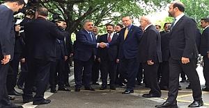Erdoğan aylar sonra meclise geldi