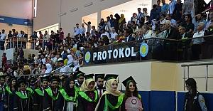 HRÜ'de mezuniyet heyecanı