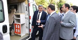 Sağlık Müdürlüğünden HRÜ'ye Ambulans
