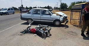 Urfa'da bir motor kazası daha!