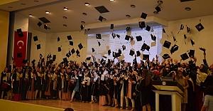 Urfa'da mezuniyet töreni (video)