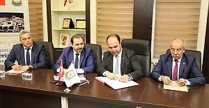 Urfa'da protokol imzalandı..