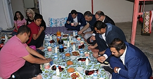 Baydilli vatandaşın iftar sofrasında..