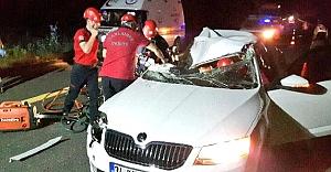 Urfa#039;da feci kaza: 1 ölü