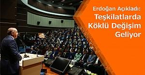 AK Parti Teşkilatları Değişiyor