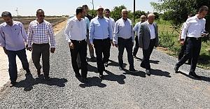 Harran'da kaç kilometre yol asfaltlandı?