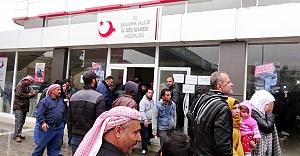 Urfa'da Göç idaresine saldırı!