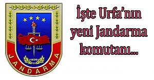 Urfa Jandarma Komutanı değişti