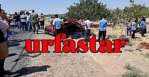 Birecik'te feci kaza:4 ölü