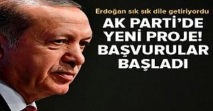 Erdoğan'ın üzerinde durduğu proje...