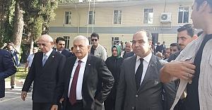 Başbakan Yıldırım ve Meclis Başkanı Karaman Birecik'te