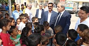 Demirkol, Çamlıdere'de öğrencilerle buluştu