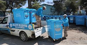 Haliliye'de çöp konteynerlerinin sayısı arttı
