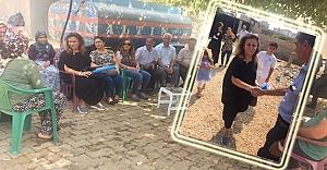 İlçe Başkan adayı Sayar hızlı başladı