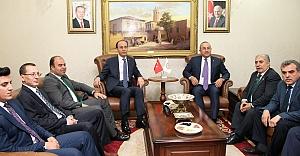 Dışişleri Bakanı Şanlıurfa'da