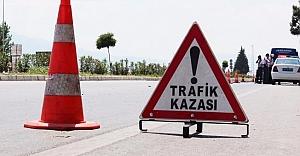 Hilvan'da Trafik Kazası: 2 Yaralı