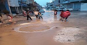 Sırrın Mahallesi sular altında..