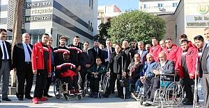 Engelliler günü etkinlikleri start aldı