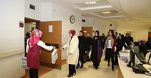 Eyyübiye'den anlamlı ziyaret