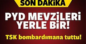Türk Askerimiz PYD'yi yerle bir etti