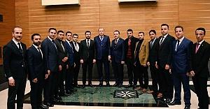 Urfa heyeti Erdoğan ile görüştü