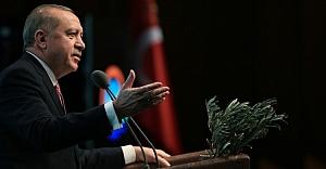 Erdoğan'dan Afrin'e giden Esed konvoyuna sert tepki