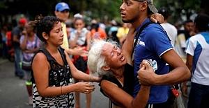 Önce Urfa şimdi Venezuela! 68 kişi öldü
