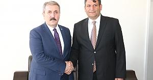 Mustafa Destici'den Ayhan'a Ziyaret