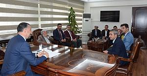 Şehit ve gazi ailelerinden Başkan Yılmaz'a ziyaret