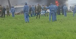 Uçak kazasında acı bilanço çok büyük