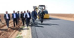 Urfa'da o yol tamamlandı