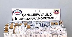 Ceylanpınar'da Kaçak Sigara Ele Geçirildi