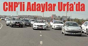 CHP'liler coşkuyla karşılandı…
