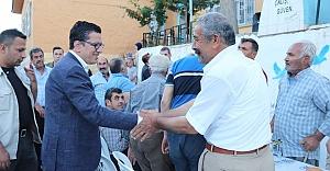 Halfeti'de ilk iftar Fıstıközü'nde yapıldı