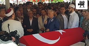 Başbakan Yıldırım Urfa'da şehit cenazesine katıldı