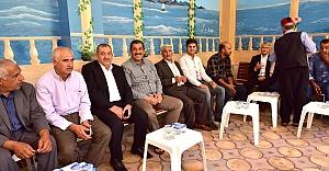 Başkan Atilla ilçe halkını evinde ağırladı