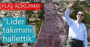 Erdoğan Urfa'da moral buldu
