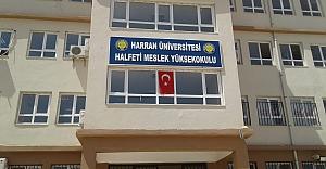 Halfeti'ye yüksekokul