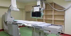 Meydan Hastanesinde Anjiyo ünitesi hazır...