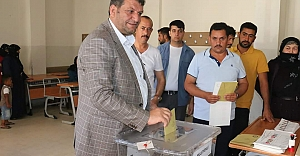 Oy verme işlemi başladı...