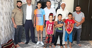 Başkan Ayhan'dan Kaybolan Çocuğa Yoğun İlgi