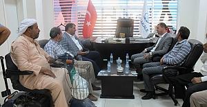 Özşavlı'dan Başkan Ayhana Ziyaret