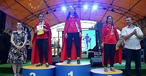 Urfalı Kız Balkan Şampiyonu...