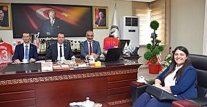 Milletvekili Özşavlı'dan Başkan Bayık'a Teşekkür Ziyareti