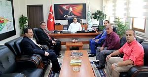 Özyavuz DSİ'de projeleri sordu...